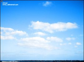 The Blue sky by BooTuM