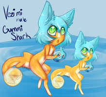 Vezimi the Gummy Shark by MystikMeep