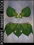 Fairy Acorn Leaf Outfit by poserfan-stock