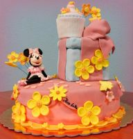 minnie cake by rosecake