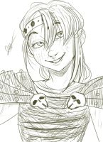 Sketch 2 Astrid by TheDeepestKing