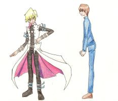 Jounouchi Ftw Sorry Kaiba by solversion