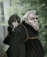 Bran and Hodor by Rewind-Me
