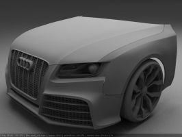 Audi RS5 WIP004 by Pisci