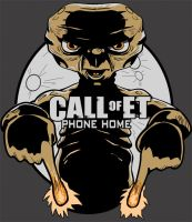 Call of E.T. by drawnblud