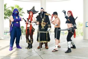 Group League Of Legends Megacon 2012 by Unmei-bot