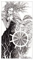 Tarot - 10 Wheel of Fortune by zsofiadome