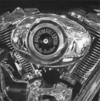 Harley Davidson Engine by Red5eptember