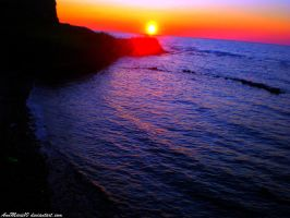 Amazing sunset... by AnnMarie10