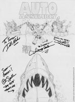 Auto Assesmbly 2014 Sketch Poster by deadcal