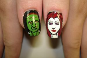 halloween nails 3 by fink