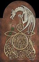 Celtic Dragon by kevindyer