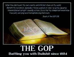 BOOK OF THE GOP by MSOwolf