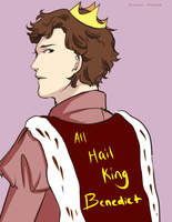 Sherlock- All Hail King Benedict by dbrloveless