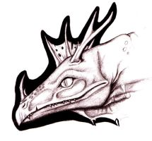 Dragonhead sketch by Raptor85