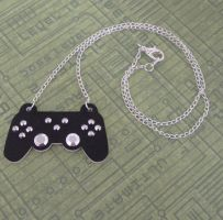 Playstation Controller Necklace by PlayBox-Designs