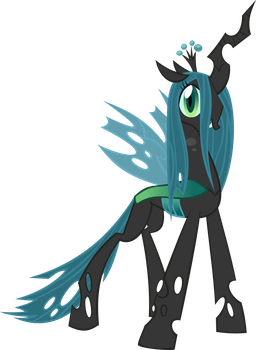 Queen Chrysalis by Pegasus-Drake