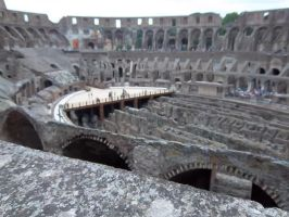 The Colosseum (Interior) by ZeldaGeek401