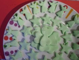 Green Peppermint Creams Christmas 2012 by PossumPip-Creations