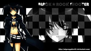 Art Trade: Black Rock Shooter Re-Edited by miyusapphire23