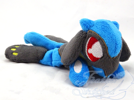 Riolu Beanie on Etsy by FeatherStitched