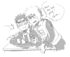 What r u looking at, Obito... by flowerhhh