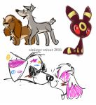 Dog Sketches by Sinister-Sweet