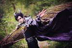 Maleficent genderbend, Disney by hakucosplay