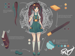 [CLOSED] Adopt I: Human Encylopedia by usaRemy