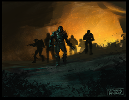 Odst Insurrection by AlphaSquadDirector