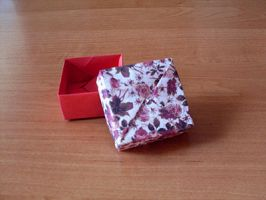 Origami Square Box I by happy96