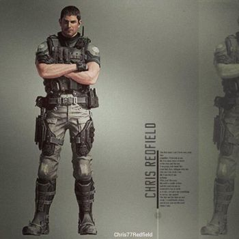 Chris Redfield (Vendetta Official Artwork) by efrajoey1