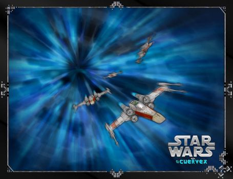 X Wing Squadron by Cuervex