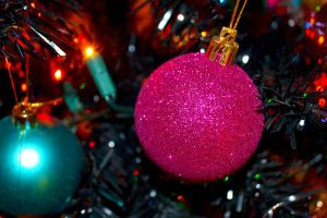 Christmas bauble by alicecorley