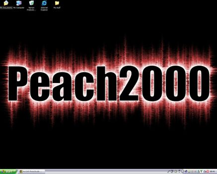 My Desktop by Peach2000