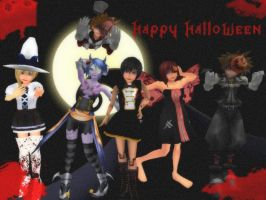 Happy Halloween! :D by SanctuarysEmbrace