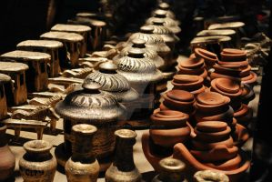 Vigan Pottery by AngelAngeles