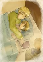 APH : sleep together by TheShakunai