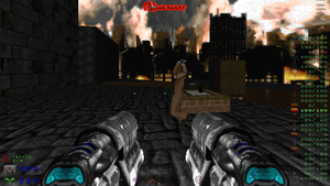 So I'm playing doom and by ralord