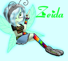 Zeida the dragonfly by QueenJessika