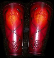 Pheonix Rising Bracer by Steampunked-Out