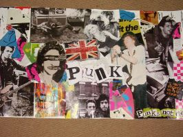 punk collage by chameleon89