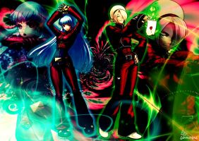 Wallpaper Kula and Ash KOF XIII by GothicYola