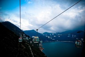 Cable Cars by iceconyelo