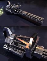 Speed Modeling - Weapon by nickeatworld