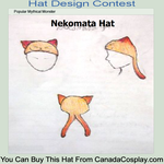 Conest Entry: Nekomata Hat by UnheardPoetic