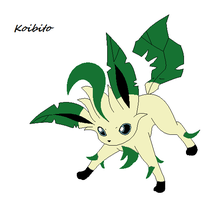 Koibito the leafeon by angle243