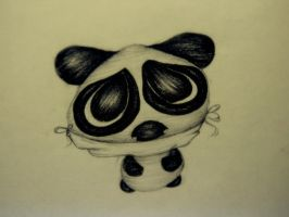 Noones Little Panda: by bohemianpoets