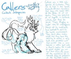 Callers - Cuilleck Subspecies Ref by ThisAccountIsDead462
