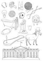 Line Clip Art Compiled by Chris0919